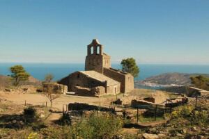 Kirchturm, Blick nach la Selva