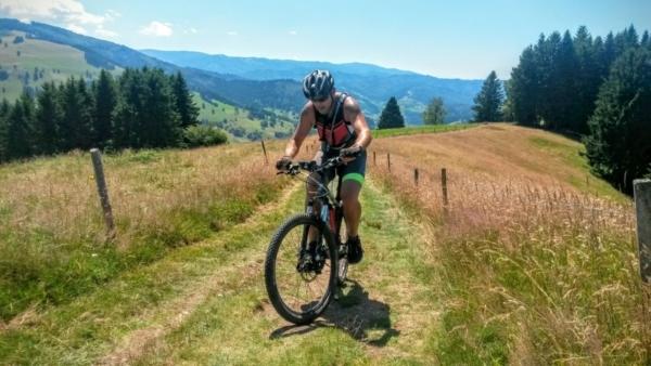 Mountainbiken mit Belchenradler