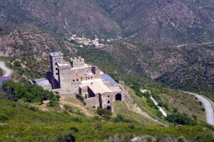 Blick auf das alte Kostergebäude