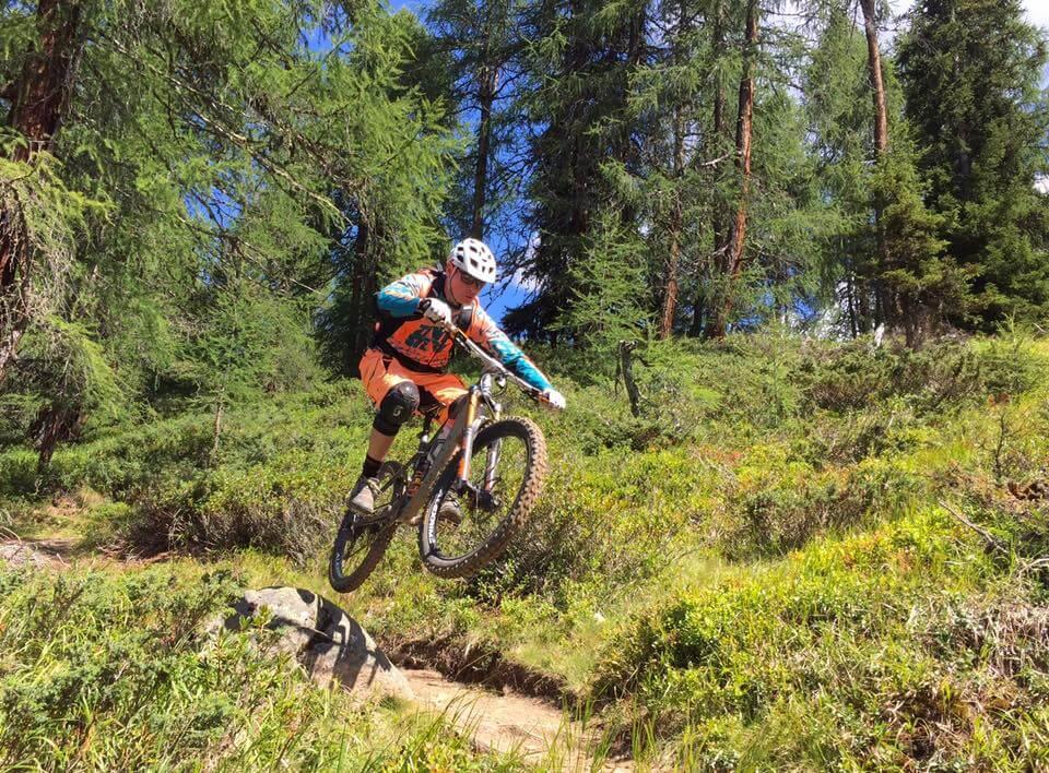 Mountainbike Sprung