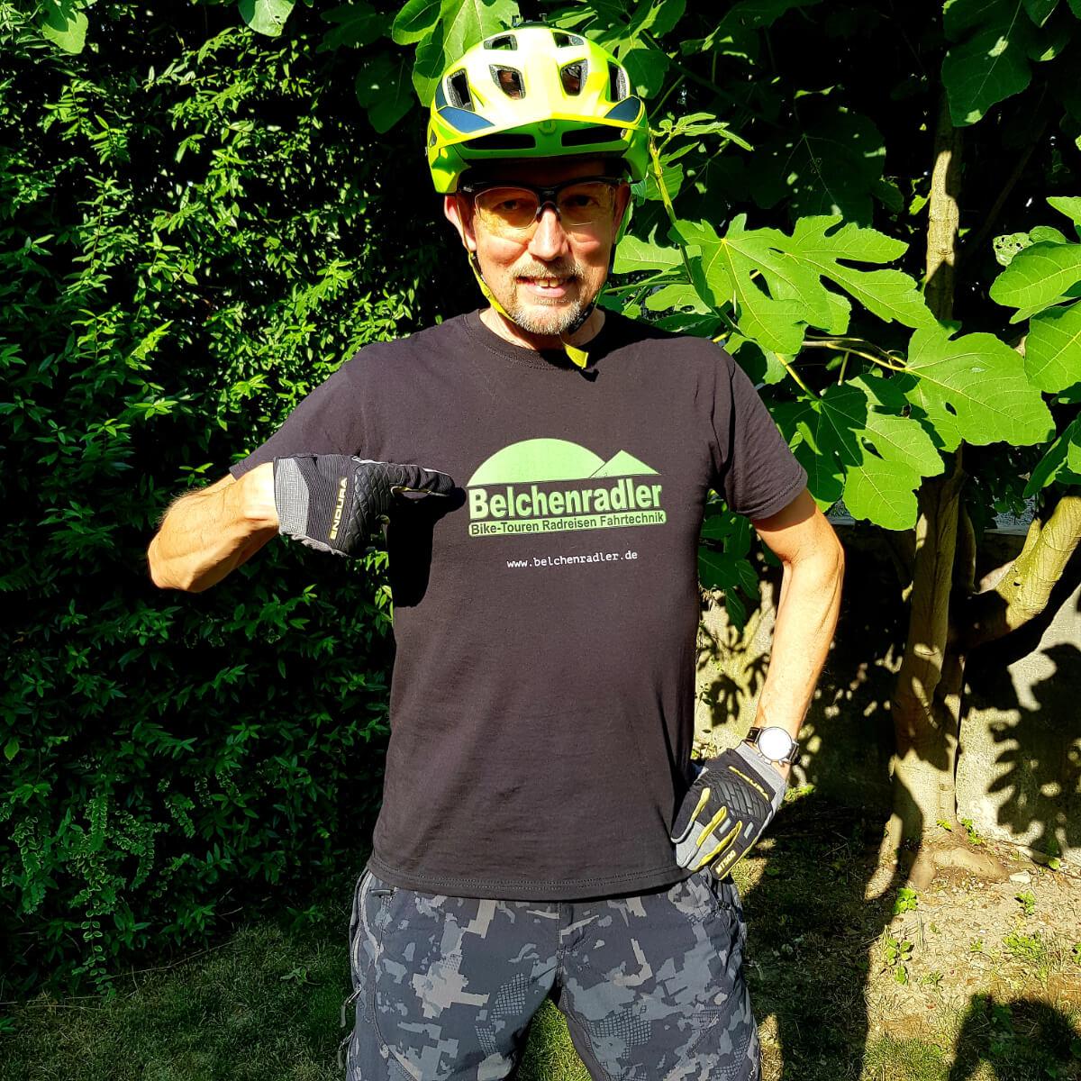 T-Shirt mit Belchenradler Logo