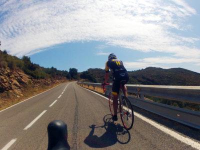 Roadbiketrip to Sant Pere de Rodes