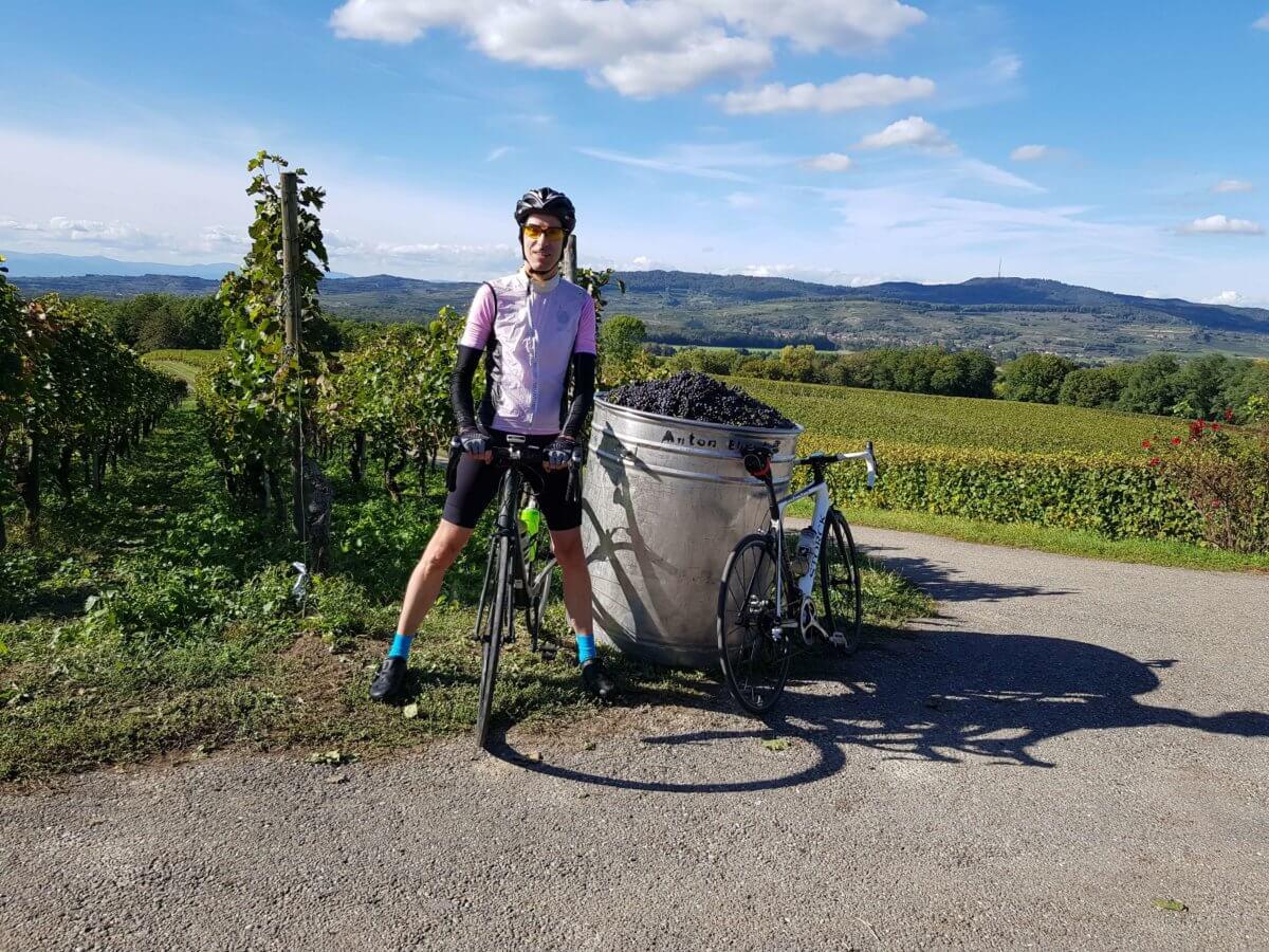 Rennradtour im Markgräflerland und Kaiserstuhl bei Freiburg