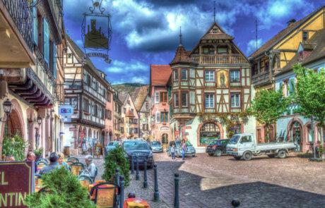 Altstadt mit historischen Gebäuden
