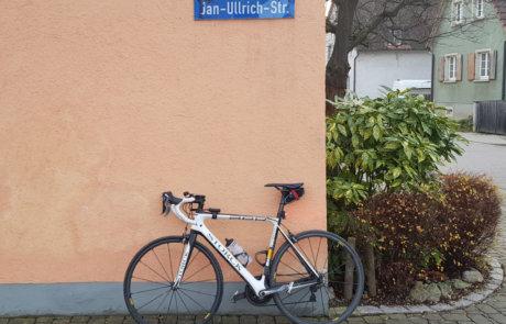 Jan Ullrich Straße in Merdingen