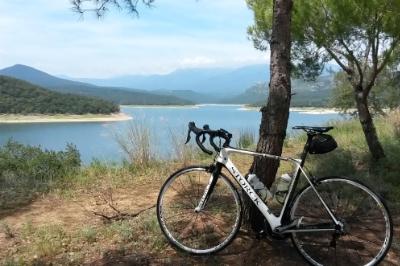 Mugasee und Rennrad