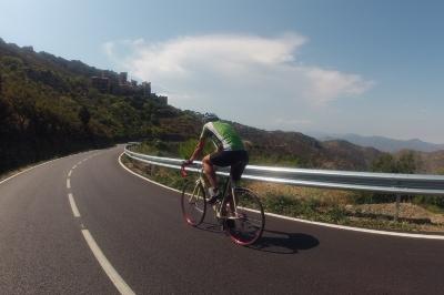 Rennradfahren in Katalonien