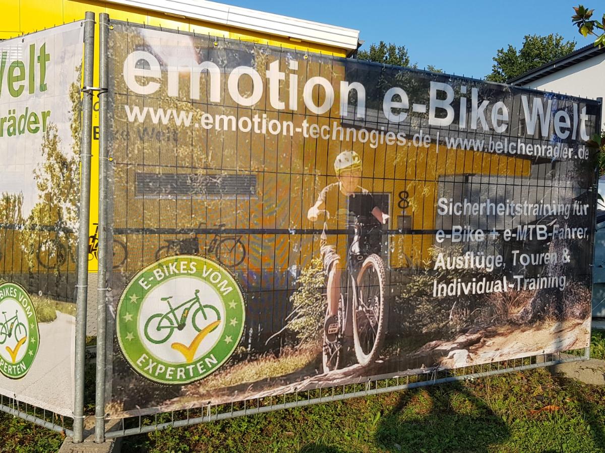 emotion e-bike Welt und Belchenradler