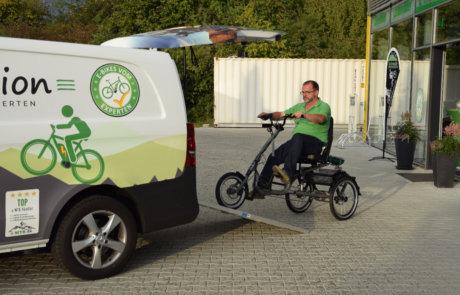 E-Dreirad Fahrtechnik