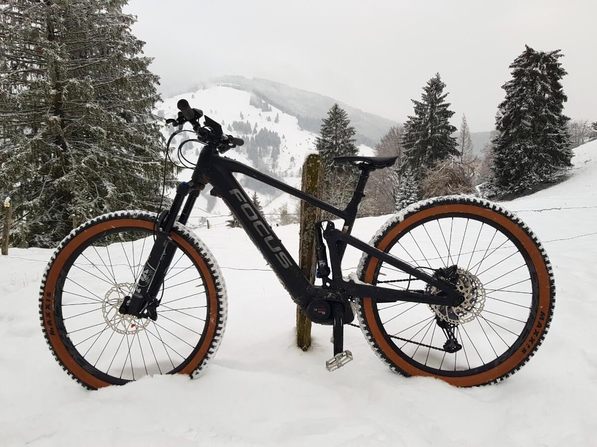 eMTB Wintertestfahrt